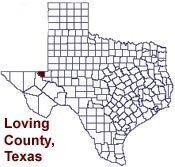welcome to loving county texas presented by online directory of